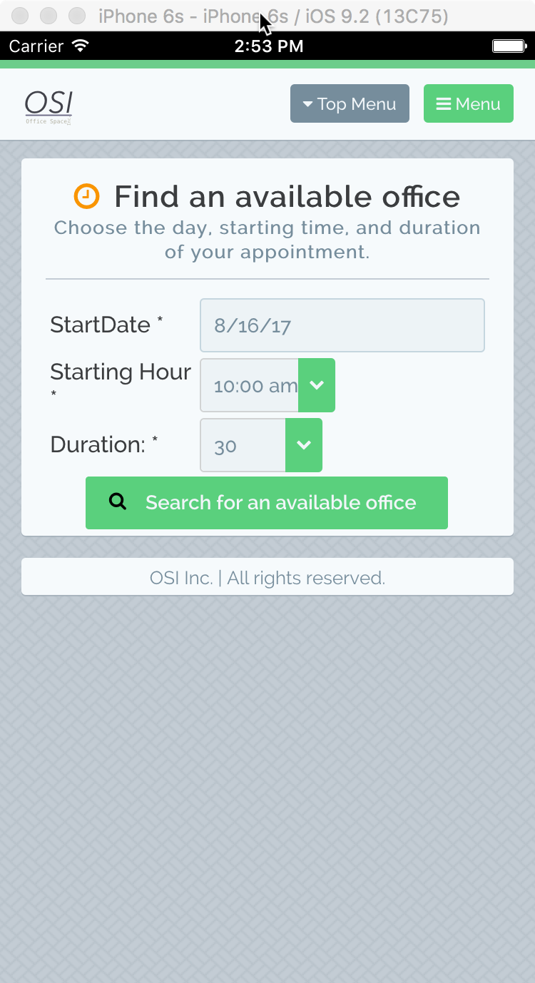 From the osi portal you can osi offices finding an available office 1betcityfo Images